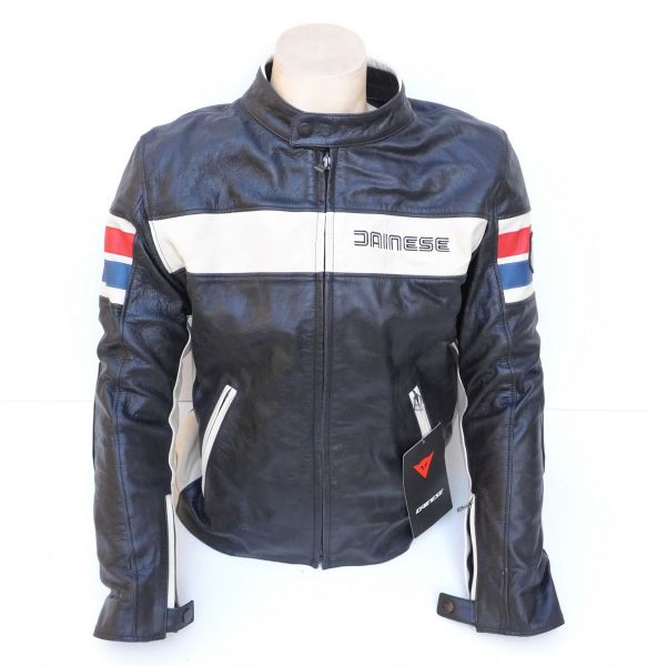 finest selection 7ee05 9585b Dainese HF D1 Giubbotto moto in pelle colore Nero taglia 52 Leather Jacket  new