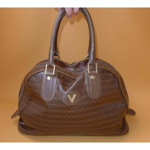Borsa Vintage Mario Valentino in pelle canvas a mano/spalla bag woman girl