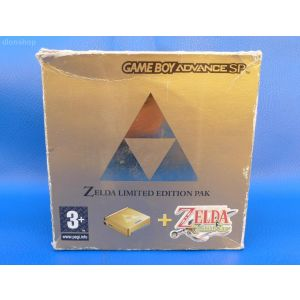 Nintendo Game Boy Advance SP Zelda Limited Edition Pak GBA retrogames console