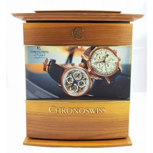 Espositore orologio chronoswiss watch expositor clock chronoswiss horloges reloy montre