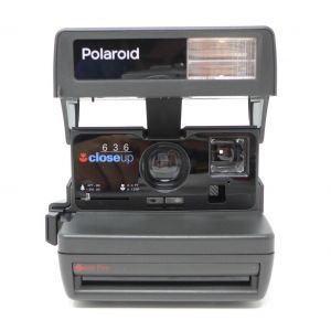 Macchina fotografica Polaroid 636 Closeup instant land camera istantanea vintage photo