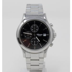 Orologio Altanus watch chrono con scatola all stainless steel diameter 40 mm clock montre reloy
