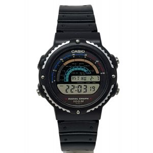 Orologio watch Casio RGW-20 radial graph module 918 sub 100 meter clock digital reloy vintage