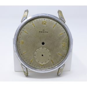 Orologio Zenith Cassa quadrante e fondello watch vintage clock anni 60 for spare parts 36 mm