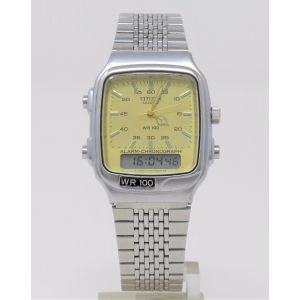 Orologio Citizen T011-313453 DualTime Vintage watch clock ana digit alarm crono