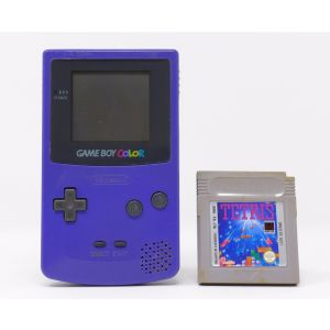 Retroconsole Nintendo Game Boy Color + gioco Tetris retrogames console portable Handheld Game & Watch
