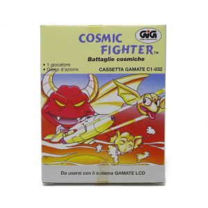 Retrogames Gamate Cosmic Fighter battaglie cosmiche Gamate C1-032 for retroconsole portable game & watch