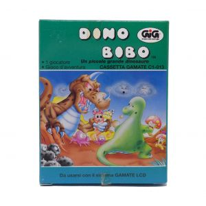 Retrogames Gamate Dino Bibo il piccolo grande dinosauro Gamate C1-013 for retroconsole portable game & watch