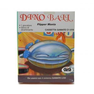 Retrogames Gamate Dino Ball flipper mania Gamate C1-019 for retroconsole portable game & watch