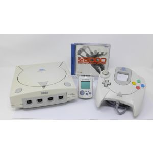 Retroconsole Sega Dreamcast con Pad + Visual Memory + Game sega worldwide soccer retrogames