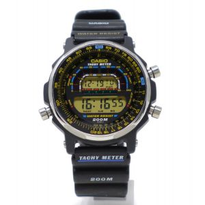 Orologio Casio DW-400 Tachy Meter digital watch diver 200 m clock very rare casio Module 905 Timecop film