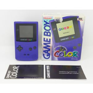 Retroconsole Nintendo Game Boy Color CGB-001 in box retrogames console portable handheld game & watch