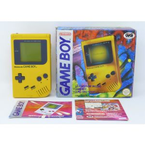 Retroconsole Nintendo Game Boy Giallo retrogames console portable Handheld Game & Watch