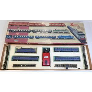 Train Lima 1010 vintage trenino motrice e vagoni very rare anni 60 train engine driving dynamic modeling