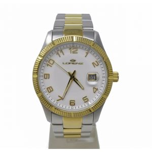 Orologio Lorenz Date Just Two Tone watch clock no chrono diver diving