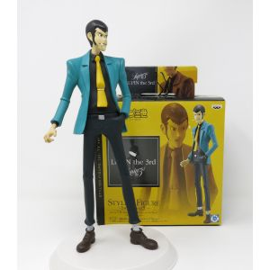 Lupin the 3rd action figures 26 cm stylish figure 1st tv vers 5 banpresto cartoon