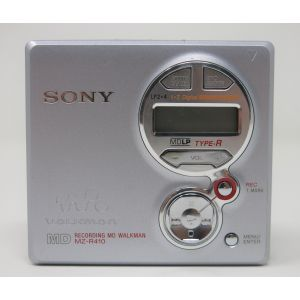 Sony MZ-R410 MiniDisc Player MD Walkman recording walkman vintage