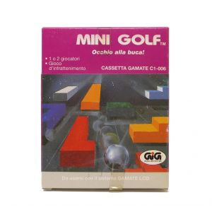 Retrogames Gamate Mini Golf occhio alla buca Gamate C1-006 for retroconsole portable game & watch