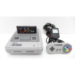 Retroconsole Super Nintendo SNES + Game Killer Instinct Retrogames videogame old gen