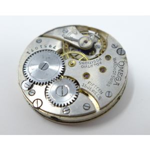 Orologio Omega mechanical watch caliber 265 sob anni 30/40 clock 15 jewels vintage movement for spare parts reloy omega