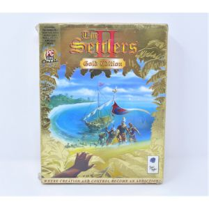 Retrogames The Settlers II Gold Edition per PC CD-Rom Nuovo New Big Box Edition