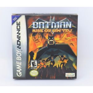 Retrogames Batman Rise Of Sin Tzu New Nuovo GBA game boy advance retroconsole