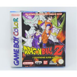 Retrogames Dragon Ball Z New nuovo i leggendari super guerrieri nintendo game boy color retroconsole
