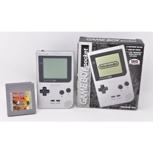 Retroconsole Nintendo Game Boy Pocket + gioco Aladdin retrogames game console