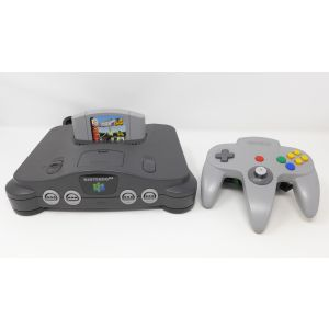 Retroconsole Nintendo 64 + gioco International Superstar Soccer retrogames videogames