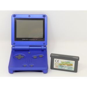 Retroconsole Nintendo Game Boy Advance SP + gioco shrek console retrogame game & watch