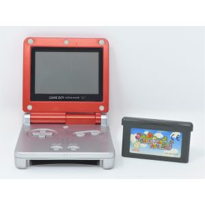 Retroconsole Nintendo Game Boy Advance SP Limited Mario edition + gioco super mario advance console retrogame game & watch
