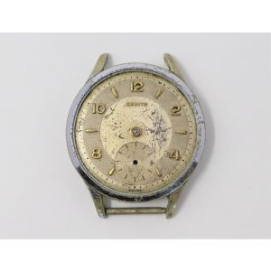 Orologio Zenith caliber 106 anni 50 per ricambi movimento 106 watch clock vintage reloy zenith for spare parts