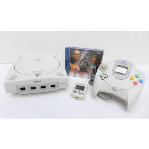 Retroconsole Sega Dreamcast + Pad + Visual Memory + Game The House Of The Dead 2 retrogames