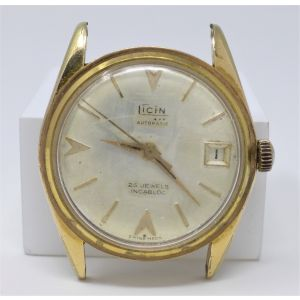 Orologio Ticin automatic watch vintage 25 jewels incabloc clock caliber Eta 2472 diameter 36 mm for spare parts
