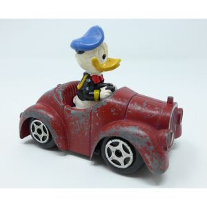 Modellino auto paperino 313 wd01 walt disney by esci 1980s model toy car donald duck