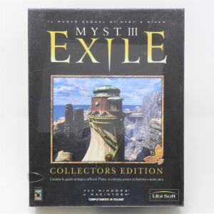 Retrogames Myst III exile collectors edition New nuovo retrocomputer videogames myst 3 exile