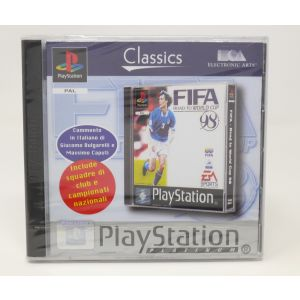 Retrogames Fifa 98 Road to world cup 98 new for play station 1 ps1 retroconsole vedeogames NUOVO