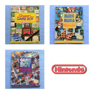Tre riviste Nintendo Magazin Mario Mania Game Boy Guide e Super Game Boy Guide Retroconsole Retrogames