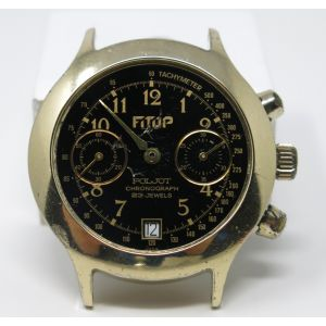 Orologio Poljot mechanical chronograph vintage watch chrono clock spare parts montre calibre 3133