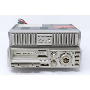 Autoradio Roadstar RS-1560 + Power amplifier RS-571Q car radio stereo