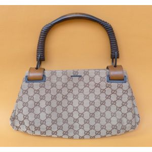 Borsa da donna Gucci linea bamboo in tela woman bag