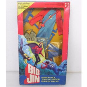 Vestito Big Jim Mission Pack Missili Speciali Tenue de Mission Mattel anni 80