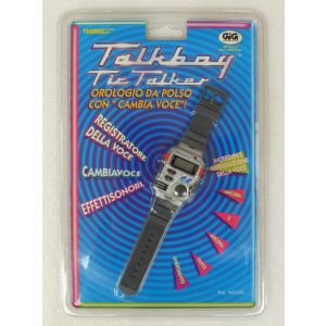 Orologio GiG Tiger Talkboy Tic Talker Game & Watch handheld No watch boy retrogames