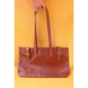 Borsa borsone in pelle Trussardi vintage a spalla bag woman girl fashion