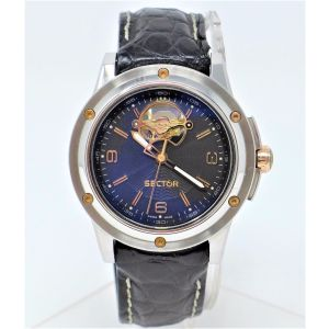 Orologio Sector 850 automatic watch caliber Eta 2824 watch clock no chrono case stainless steel 40 mm