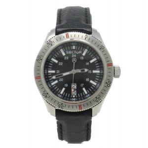 Orologio Sector 260 in acciaio daydate ore 6 watch sub 100 meters clock diver stainless steel