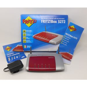 FritzBox 3272 modem router adsl2+ wifi porte gigabit fritz!box internet modem