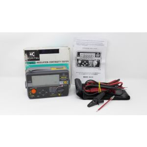 Kyoritsu KEW 3023 Digital Insulation Tester Voltage & Continuity Tester misurat