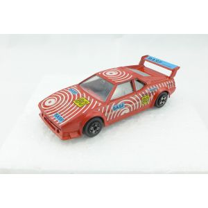 Burago bmw m1 red rossa scala 1/43 made in italy vintage anni 80 90 macchinina macchina toy car model auto modellino