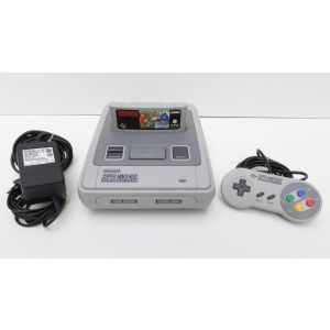 Retroconsole Super Nintendo SNES cpu-1Chip-02 Retrogames videogame oldgen videogames super mario world 2